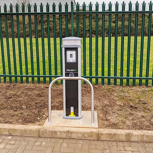 Electric Vehicle Rolec Charge Point