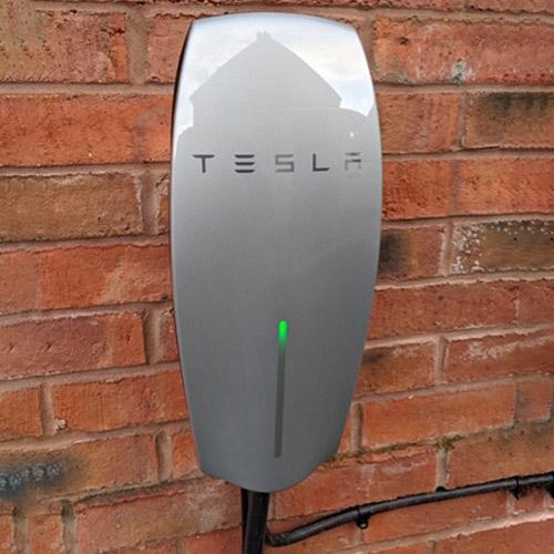 Tesla EV Wall Charge Point